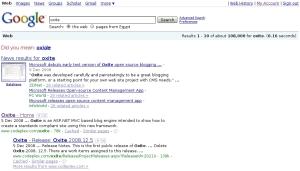 google-search-oxite